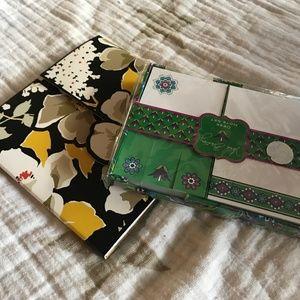 Vera Bradley Desk Note Set and Sticker Around Pack